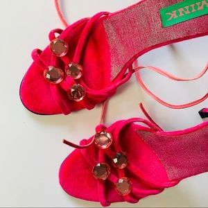 NEW Mink Embellished Sandals 37